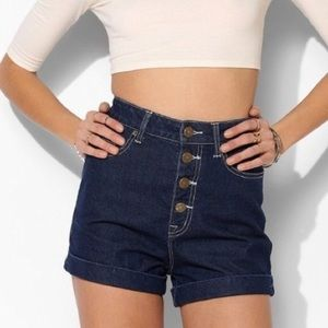 Urban Outfitters BDG Super High Rise Foxy Shorts